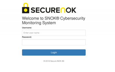 New SNOK™ release 1.8.2 is available.