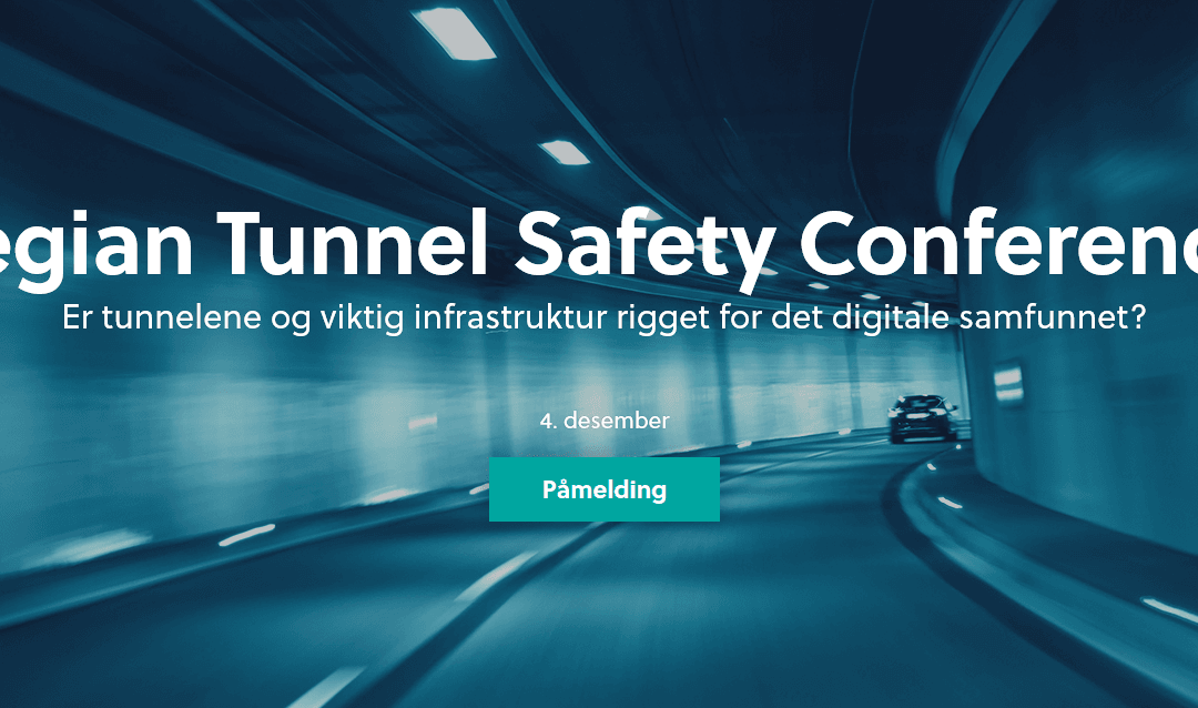 Secure-NOK speaks at Norwegian Tunnel Safety Conference in Oslo Dec 4th