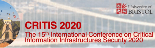Secure-NOK presents at International Conference on Critical Information Infrastructures Security (CRITICS) 2020